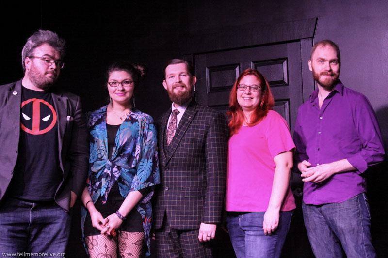 Bryan Lewis, Alina Sahakian, Ryan Quinn McIntire, April Shannon Threet and Patrick C. Taylor