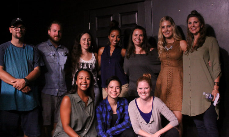 Front row: Jennifer Chapman, Rowan Reyna and Sheena Jeffers.  Back row: James Kihn, Stephen Miles, Stephanie Lask, Neisha Himes, Valeria Palmertree, Kira Young and Sarah Hill.  Not pictured: Hannah Slusher and Christopher Revels.
