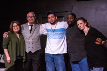 Ja Byrd, Rick Krupnick, Rafael Henriquez, Angel Sanchez and Deb Markham