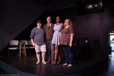 Jack DuBeau, Rick Krupnick, Marrissa Patterson and Ramona Rice