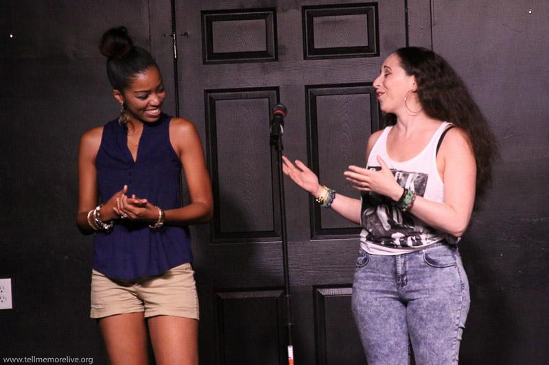 Neisha Himes and Stephanie Lask share a spoken word poem about candle light and friendship